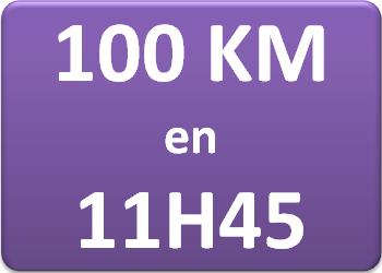 Plan d'entraînement 100 km en 11h45