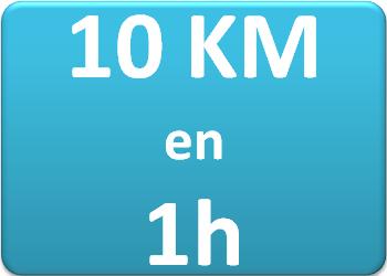 Plan d'entraînement 10 km en 1h