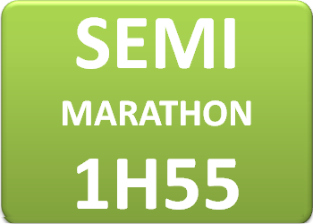 Photo de Plan d'entraînement semi-marathon en 1h55