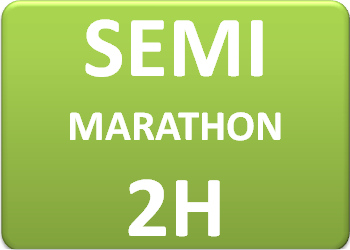 Plan d'entraînement semi-marathon 2h